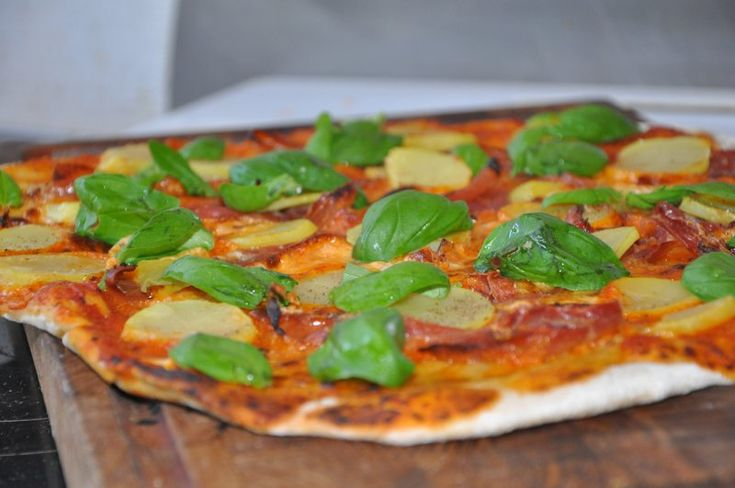 Pizza mascapone