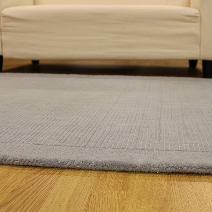 Duck Egg Sm Large Wool Rugs Plain