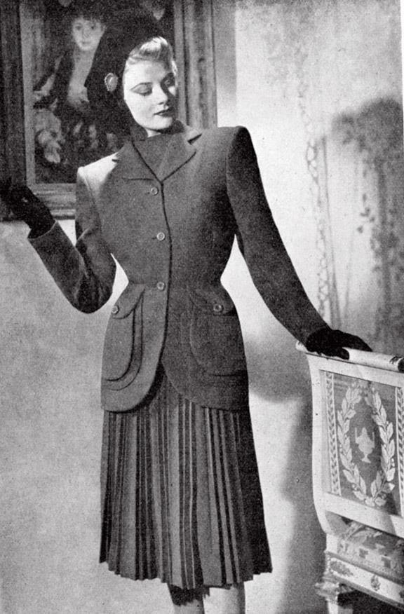 1940s Women's Fashion