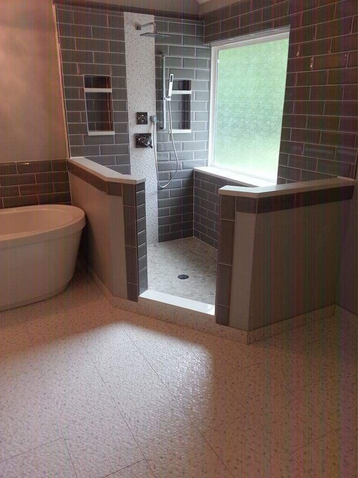 What An Amazing Bathroom By Jabez Homes And Renovations In Kcmo Diy Home Repair Amazing Bathrooms Home Repairs