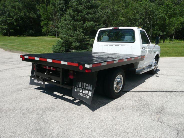 Used  Ton Flat Bed Trucks In North Carolina