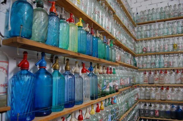 botellas-antiguas-sifones-gaseosas-cervezas coleccion-Ciudad-Real