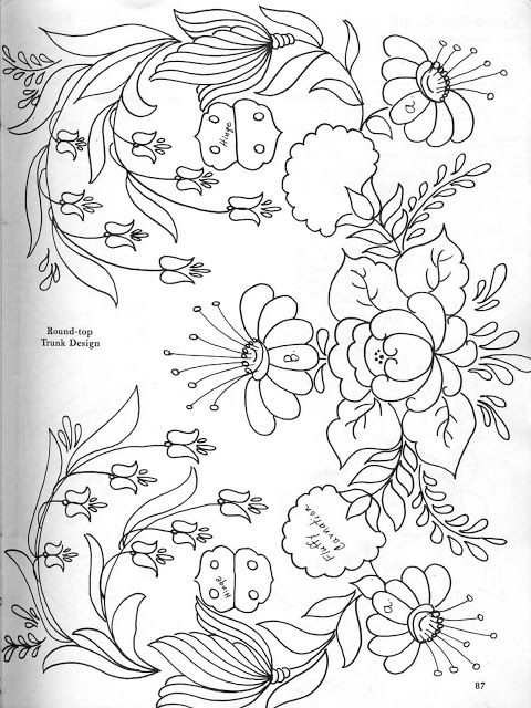 5430 best Embroidery patterns images on Pinterest