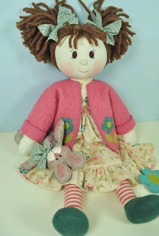 (9) Name: 'Sewing : Millie & Rose Rag Doll Pattern - PDF