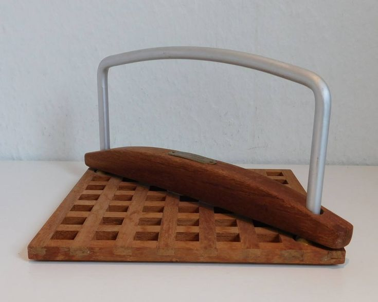 Trip Trap Napkin Holder - Teak by SilverfernDK on Etsy