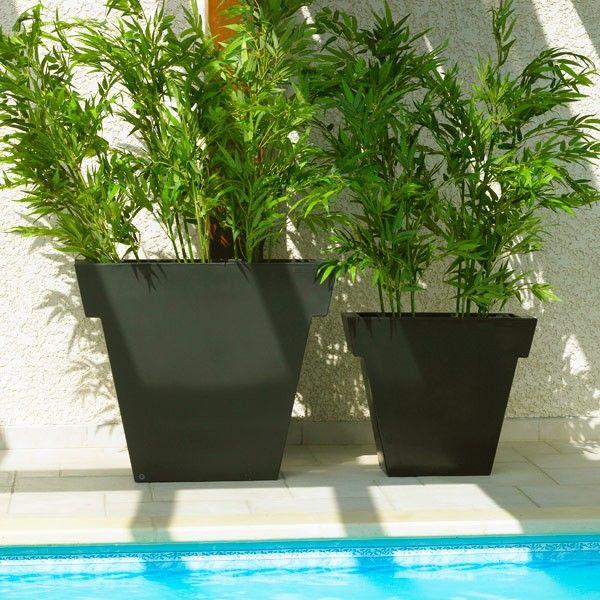 13 best Jolis pots de jardin images on Pinterest Flower pots - cube lumineux solaire exterieur