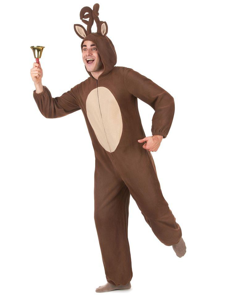 Rentier-Kostüm Jumpsuit Weihnachten braun-beige , günstige Faschings  Kostüme bei Karneval Megastore, der größte Karneval und Faschings Kostüm- und Partyartikel Online Shop Europas!