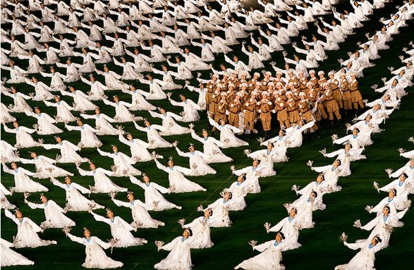 The North Korean Mass Games Performed by 100,000 People