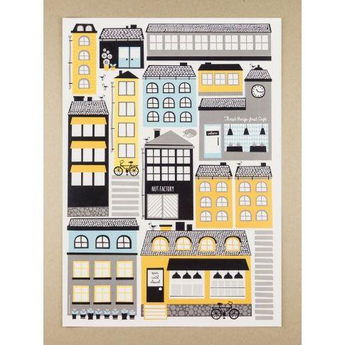 Plakat A3 Stadi - MagiaPolnocy.pl sklep w stylu skandynawskim. #muumuru