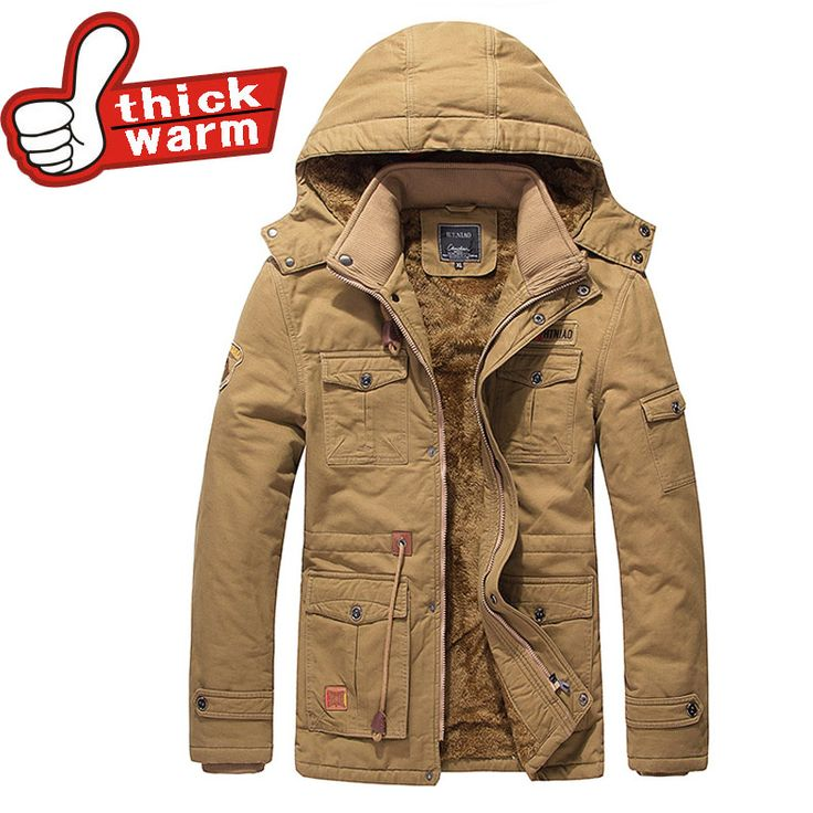 ==> [Free Shipping] Buy Best 2016 new 100% Cotton Casual Padded Thick Warm Winter Jacket for Men Waterproof Parkas Hooded Coat high quality Western style Online with LOWEST Price | 32726749820