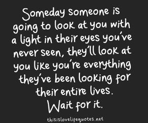 i have seen this in my husband. i pray everyone loiking for love knows this is possible, just keep looking and it will come