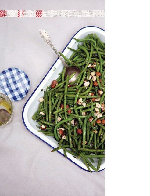 Green beans and mint salad   Salads, Side Dishes, Salsas and Dips ...