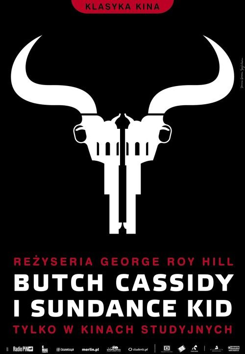 Polish poster of 'Butch Cassidy and the Sundance Kid', 1969, George Roy Hill