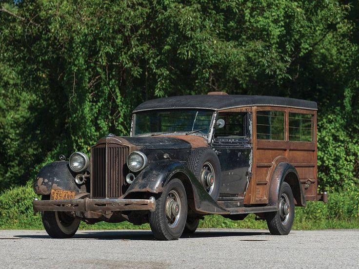 1934 Packard Super 8 Hunting Car