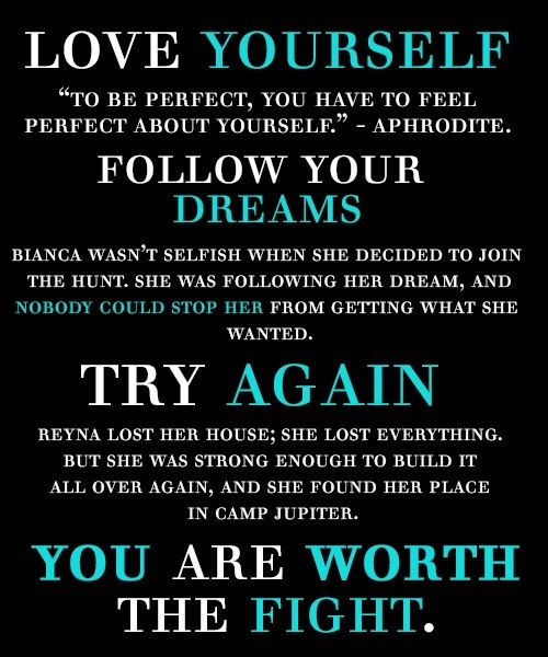 Percy Jackson and the Olympians motivational