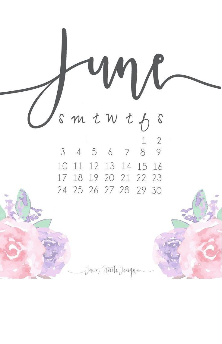 Best June 2018 Calendar To Print Calendar Wallpaper Print