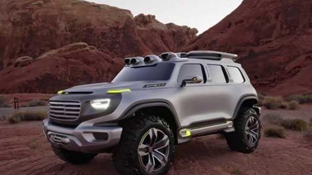 2020 Toyota FJ Cruiser concept - Concept Cars Group Pins