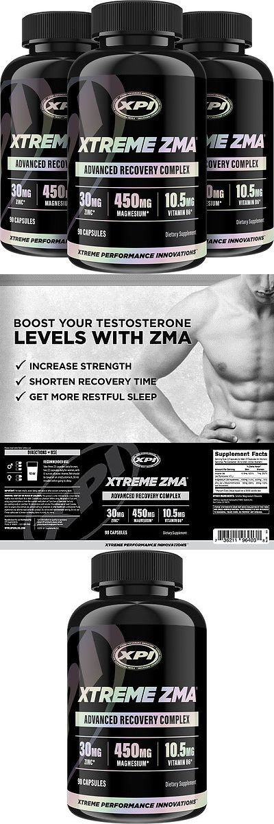 Other Sports Supplements: Xtreme Zma (90 Caps) 3 Pack - Muscle Recovery, Post Workout And Testosterone Boost -> BUY IT NOW ONLY: $36.95 on eBay!
