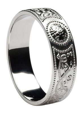Celtic Warrior Ring - 3mm to 9mm Widths