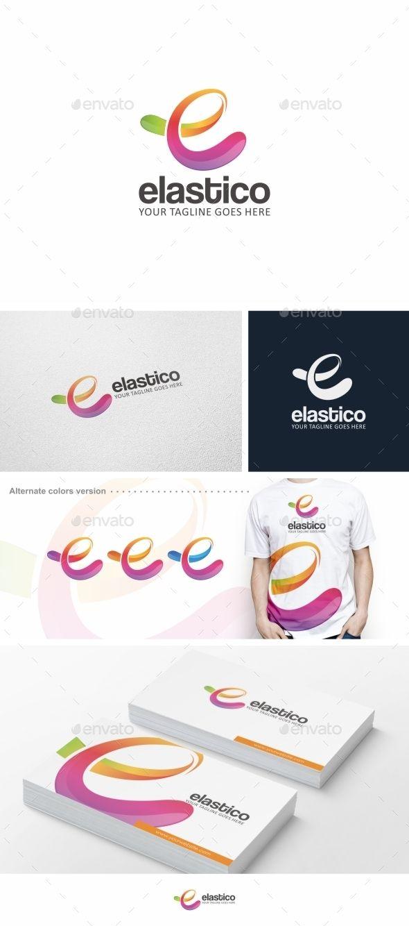 Logosmartz custom logo maker 5 0 review and download - Colorful E Letter Logo Design Template Vector Logotype Download It Here Http
