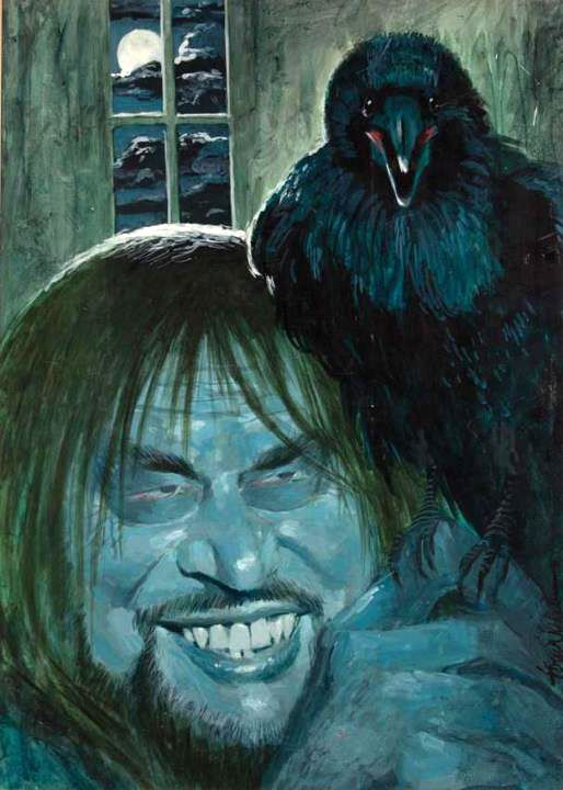 The painting from Night Gallery's episode Quoth the Raven
