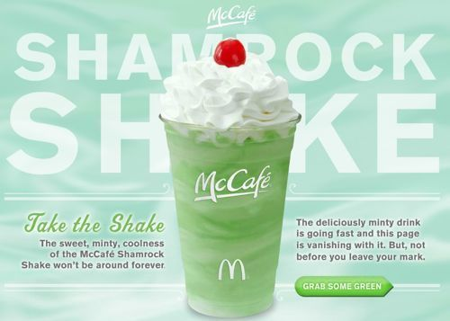 DIY #Vegan Shamrock Shake: Food Recipes, Dee Shamrock, Skinny Shamrock, Shamrock Shakes, Shake Recipes, Restaurant Copycat Recipes, Healthy Food, Shakes Recipes, Mcdonald'S Shamrock