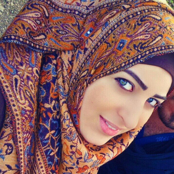 Beauty with the Hijab