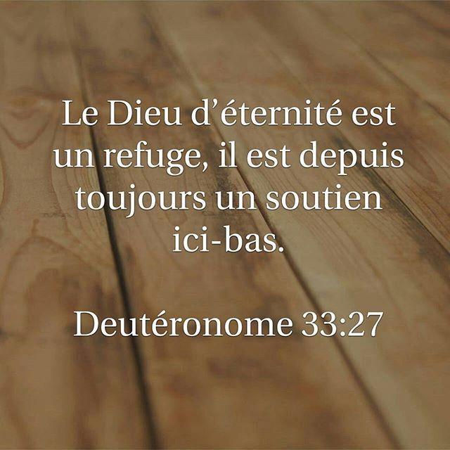 Dieu est encore aujourd'hui un refuge. Allons vers Lui. #labible #versetdujour