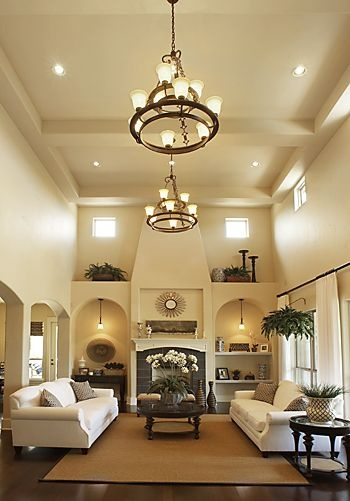 Love The High Ceiling And Lighting