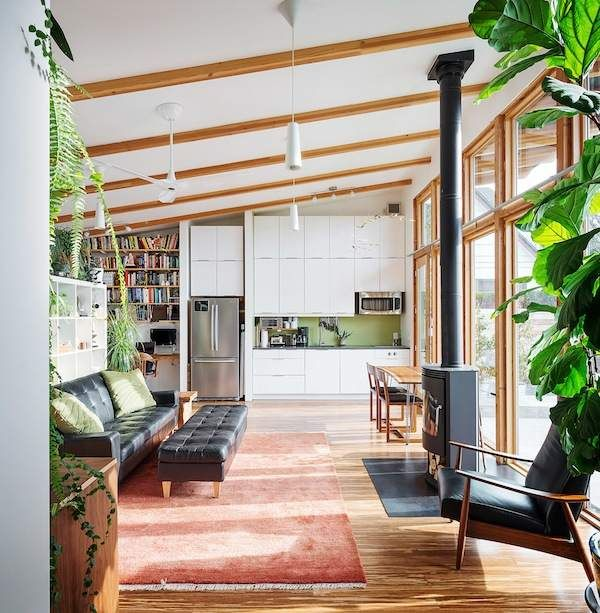 own less live more 704 sq ft of freedom aaron leitz 001 Own Less  Live. 17 Best images about Tiny Homes 100 1000 sq ft on Pinterest