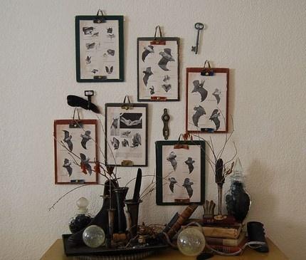 Des pinces pour accrocher au mur diy pinterest - Accrocher photos au mur ...