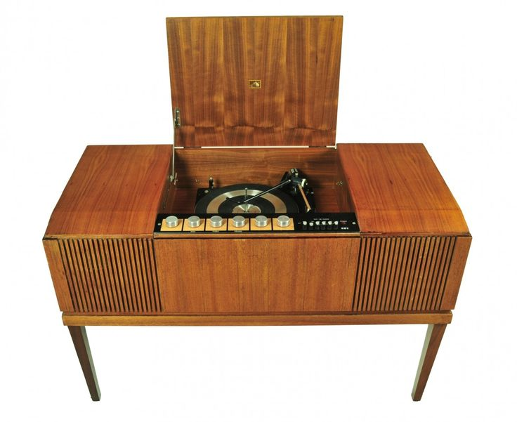 Cabinet from the seventies by unknown designer for His Masters Voice