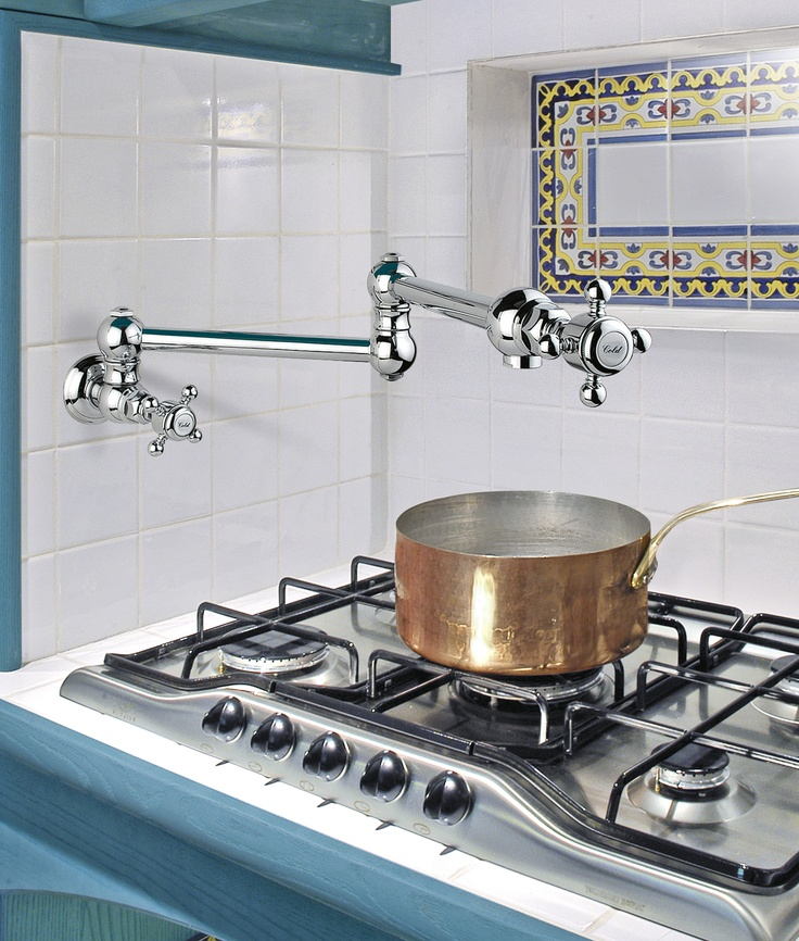 1451 Pot Filler Available in all finishes Handle Options Dame Anglaises & Half Dome www.sinkandtap.com.au