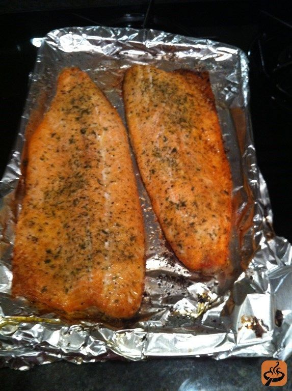 Oven Roasted Rainbow Trout recipe with photos | GetMeCooking