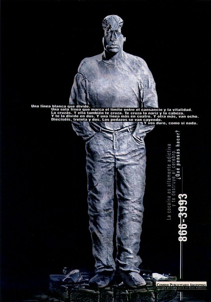 """""""Lucha contra la droga dependencia -estatua-"""" 1998"""