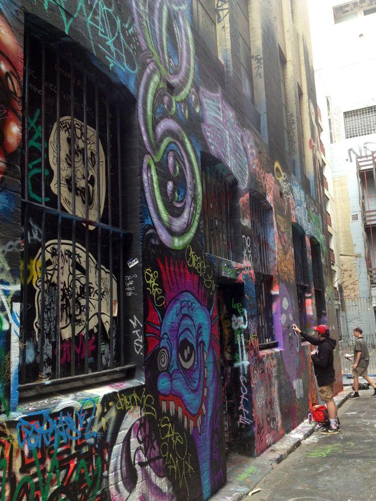 Melbourne lane ways