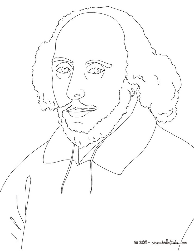 elizabethan coloring pages - photo#4