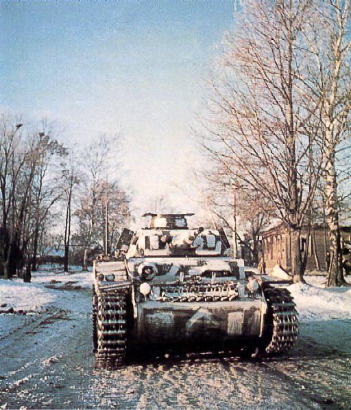 Panzer III in Russland