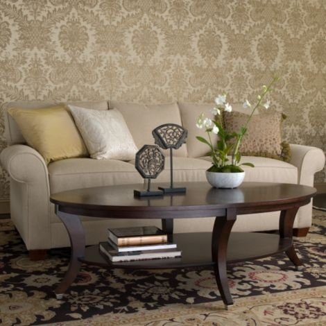 Nice Ethanallen.com   Modern Glamour Adler Oval Coffee Table | Ethan Allen |  Furniture |