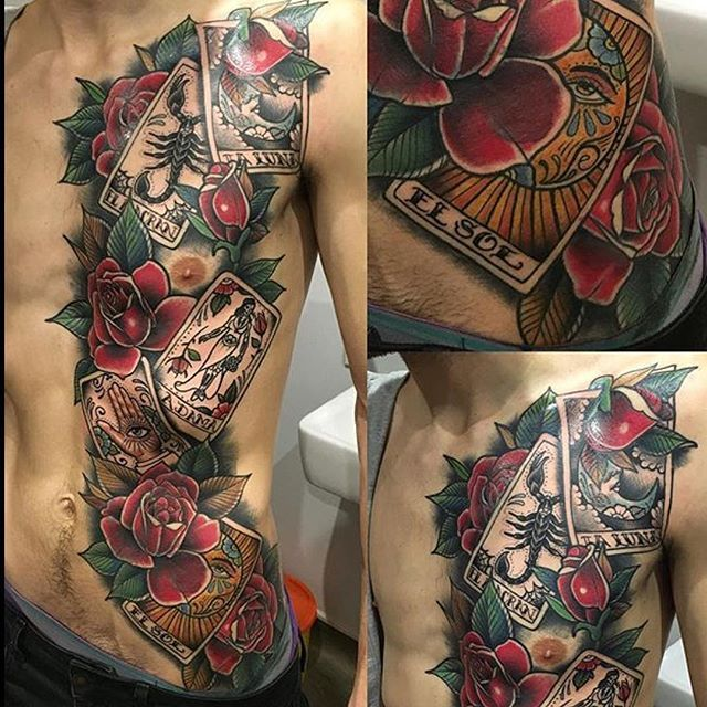 1000+ Ideas About Torso Tattoos On Pinterest