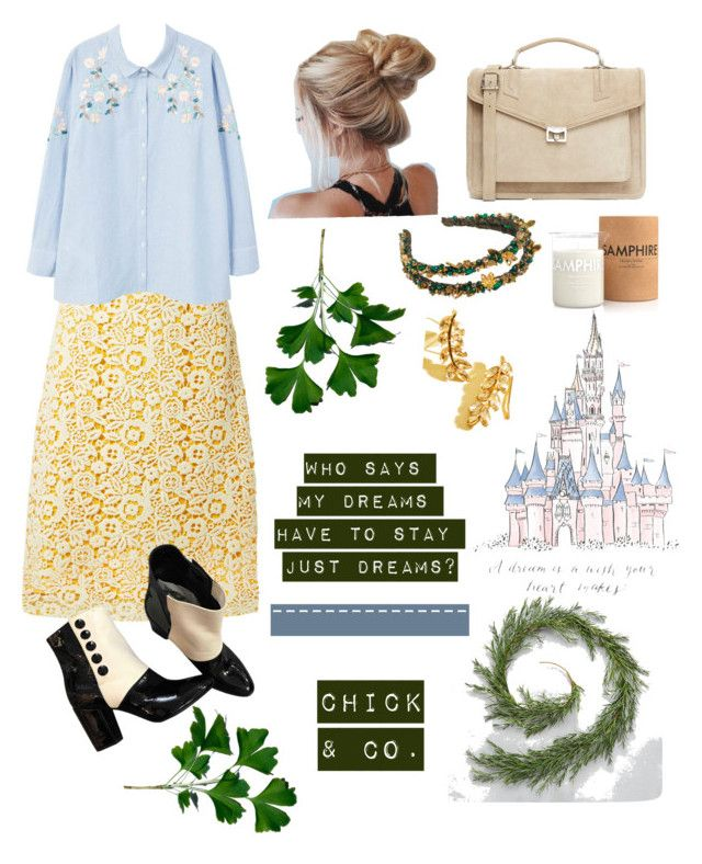 """Who Says"" by chick-and-co on Polyvore featuring Miu Miu, MANGO, Chanel, J.Lindeberg, Laboratory Perfumes and Disney"