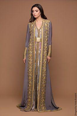 4e7ce365bc Nadia Boutaleb Caftan Haute Couture Casablanca | lavender in 2019 ...