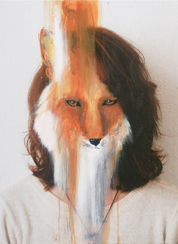 Bestialisation – Peintures animales de Charlotte Caron