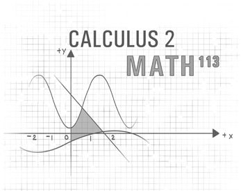 MATH 113: Calculus 2-Techniques and applications of integration; sequences, series, convergence tests, power series; parametric equations; polar coordinates. 3 credit course.