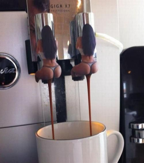 A hilariously disgusting way to cut down on your coffee intake.  (Don't look at me. I didn't make it.)