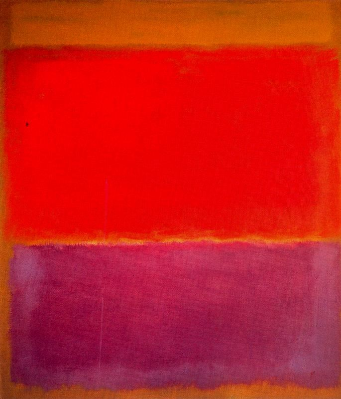Mark Rothko, Untitled, 1960, Oil on canvas, 235,9 x 205,7 cm