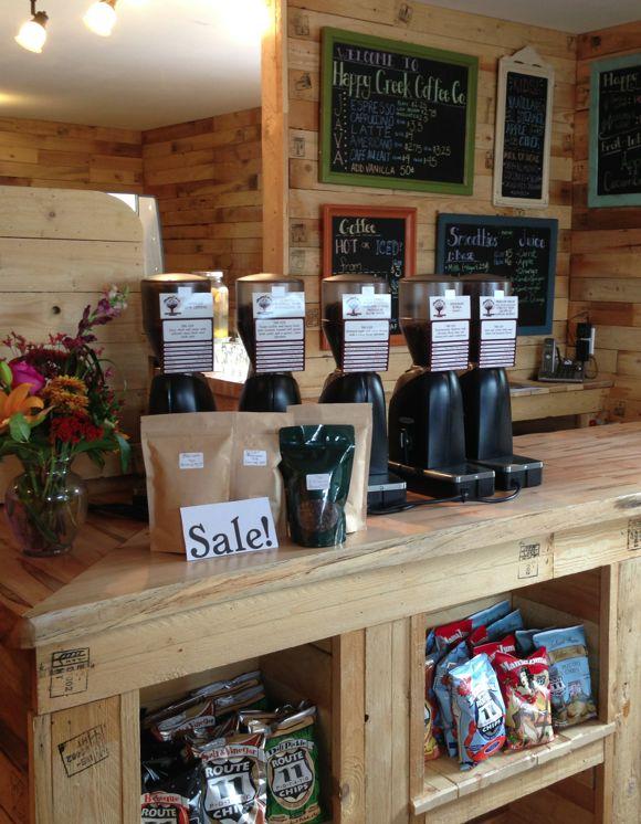 Happy Creek Coffee Company, Front Royal VA