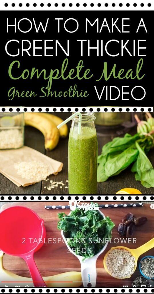 Tipps zur Zubereitung von Mahlzeiten: Tag 1 Lean Green Smoothie Challenge Wie man einen grünen …   – Natural Medicine