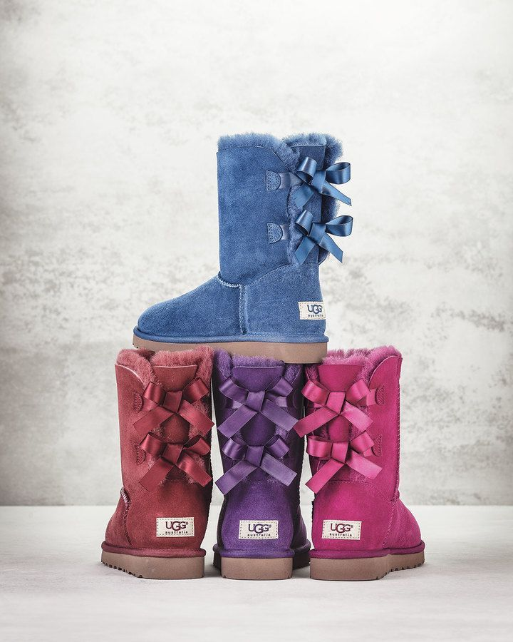 These boots are adorable!!! I definitely want a pair! Australia Bailey Bow-Back Boot