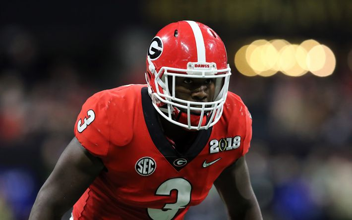 Download wallpapers Roquan Smith, 4k, american football